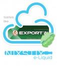 Export A Menthol Flavoured eLiquid