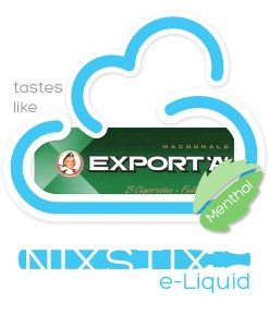 Export A Menthol Flavoured eLiquid